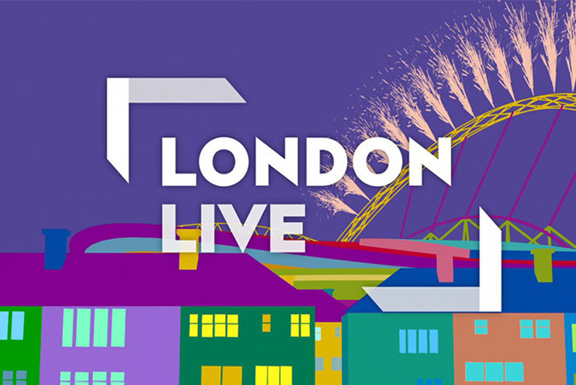 TV Appearance on London Live / Tuesday 4th August at 13:30pm