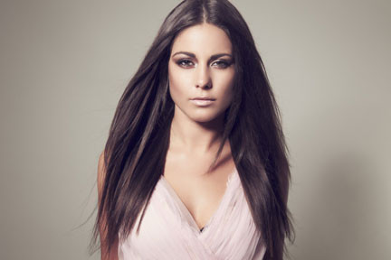 Performing at the Hammersmith & Fulham Christmas Market / Lights - Louise Thompson (star of Made