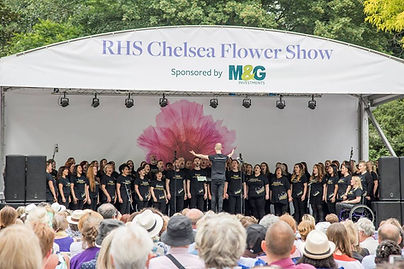 RHS Chelsea Flower Show performance with