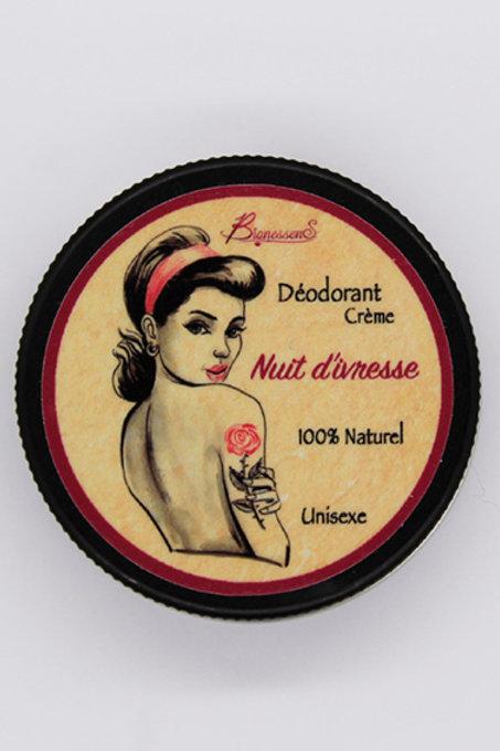 Déodorant crème Nuit d'ivresse