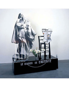 Le baiser de l'artiste - 1977.JPG