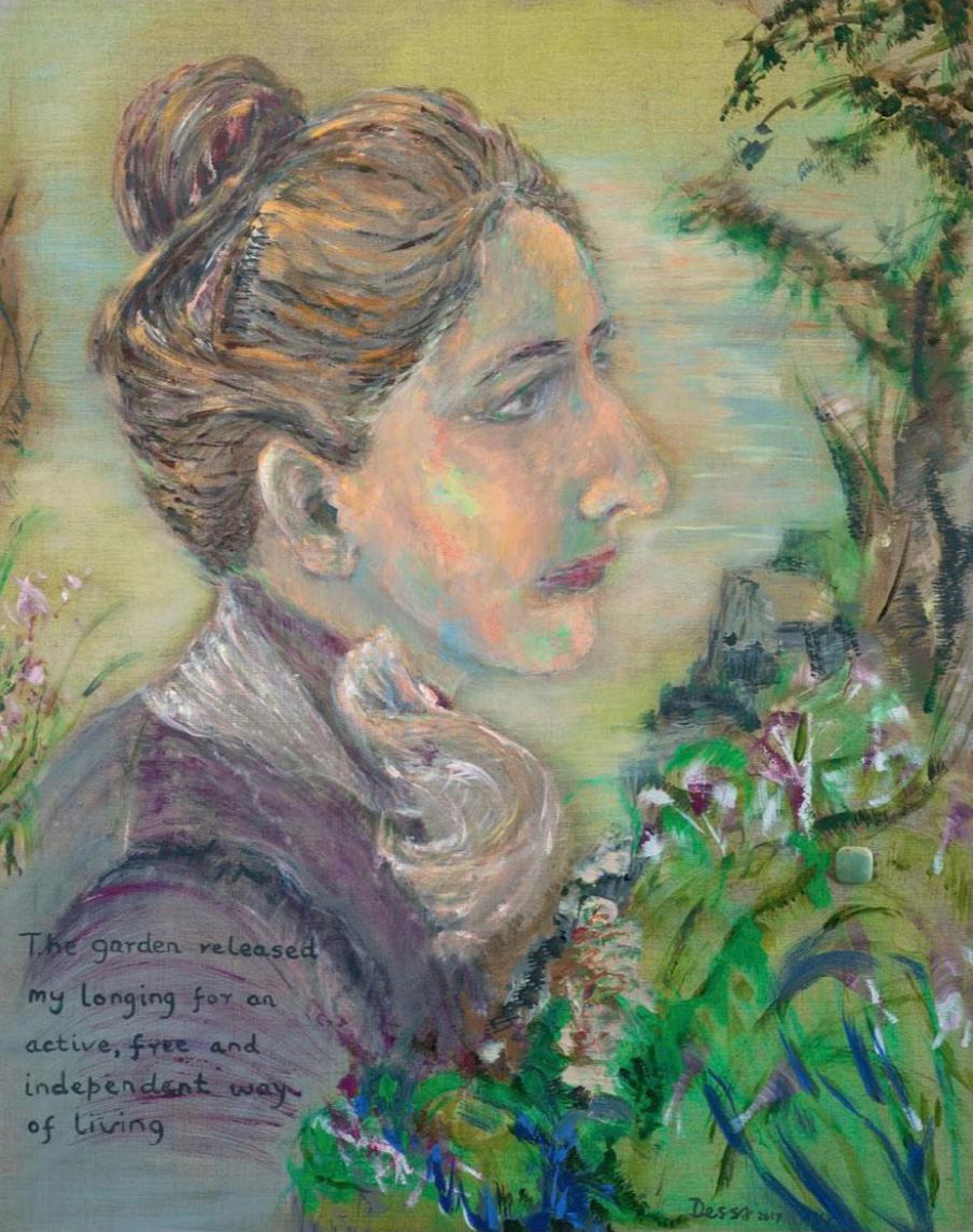 Portrait Alice Solomon