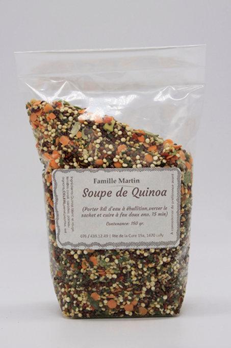 Soupe de Qinoa