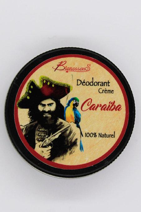 Déodorant crème Caraïba