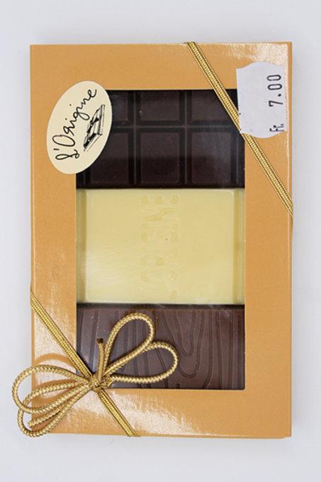 L'Origine - 3 chocolats