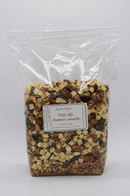 Petit Déj - Pomme-Cannelle