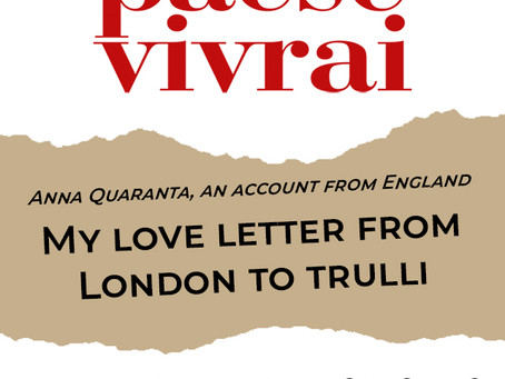 From London to Puglia: a love letter for restarting from the pandemic