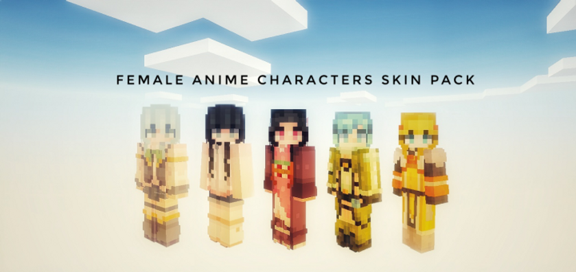 The Female Anime Characters