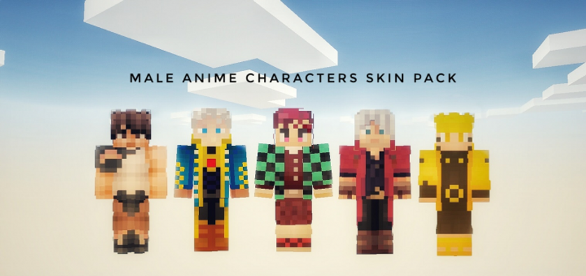 The Male Anime Characters