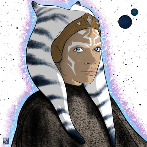Rosario Dawson as AHSOKA