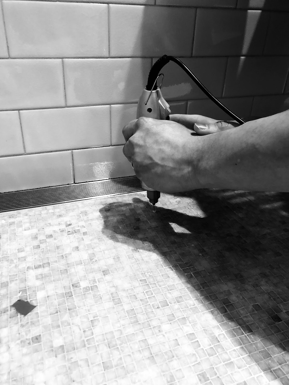 Marble & Porcelain shower repaer