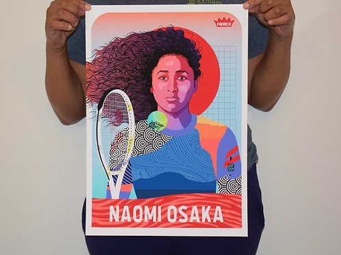 Naomi Osaka Print