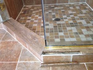 How To Rescue A Porcelain & Marble Shower