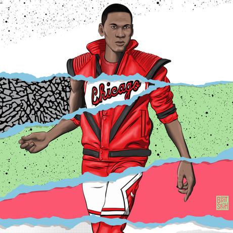 80s Michael Jordan