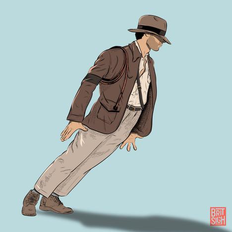 Indiana Jones + Michael Jackson Lean