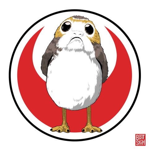Porg from Star Wars