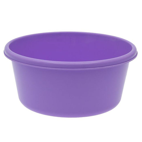 Таз круглый 6 литров, цветной