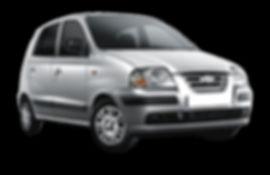silver Hyundai Atos hatchback