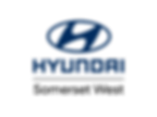 Hyundai Somerset West deaership logo - vertical orientation