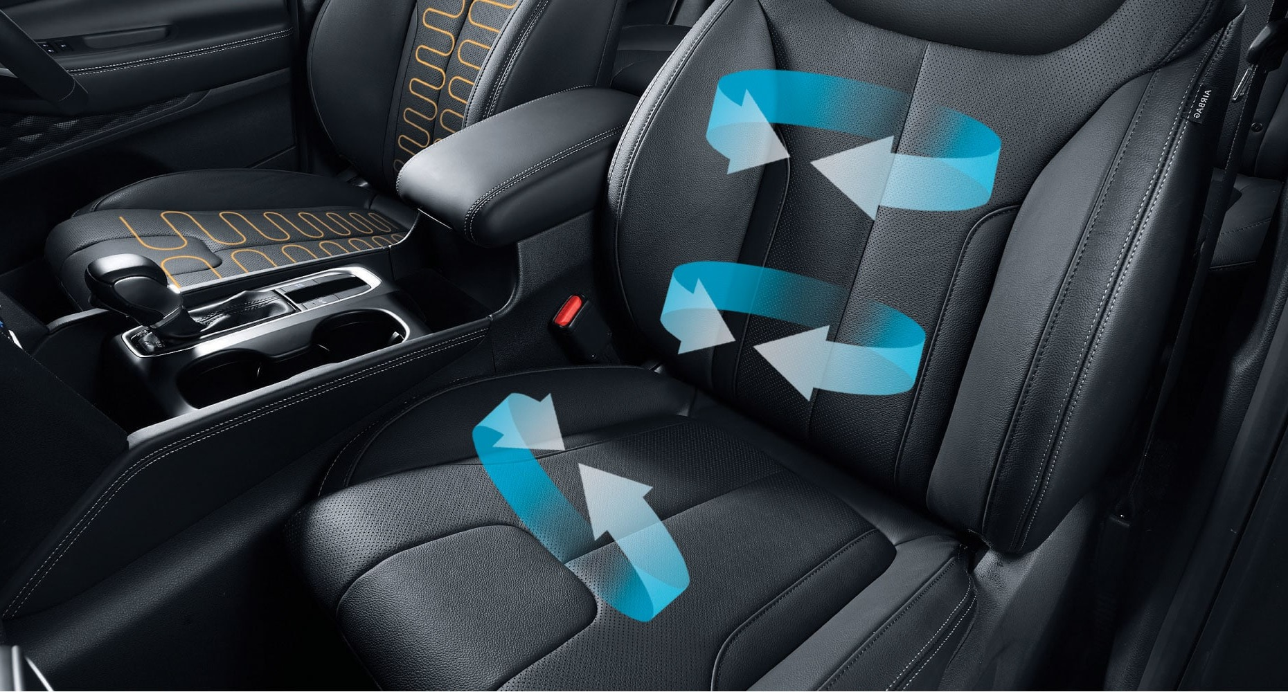 Heating & ventilation-equipped seats