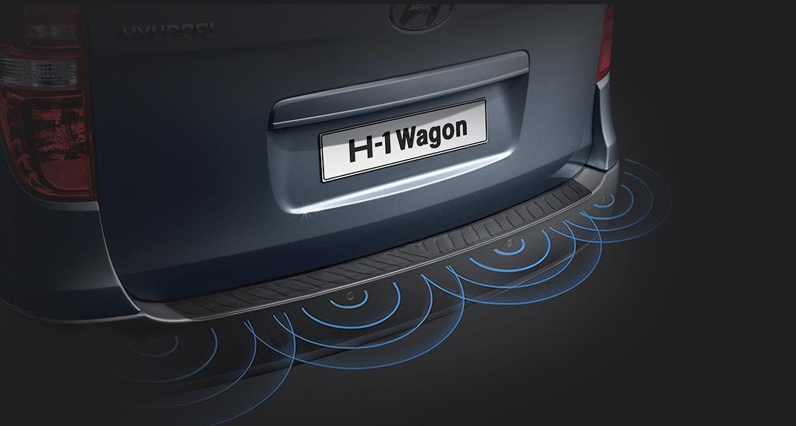 Rear park sensors.