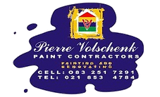 Pierre Volschenk Paint Contractors logo
