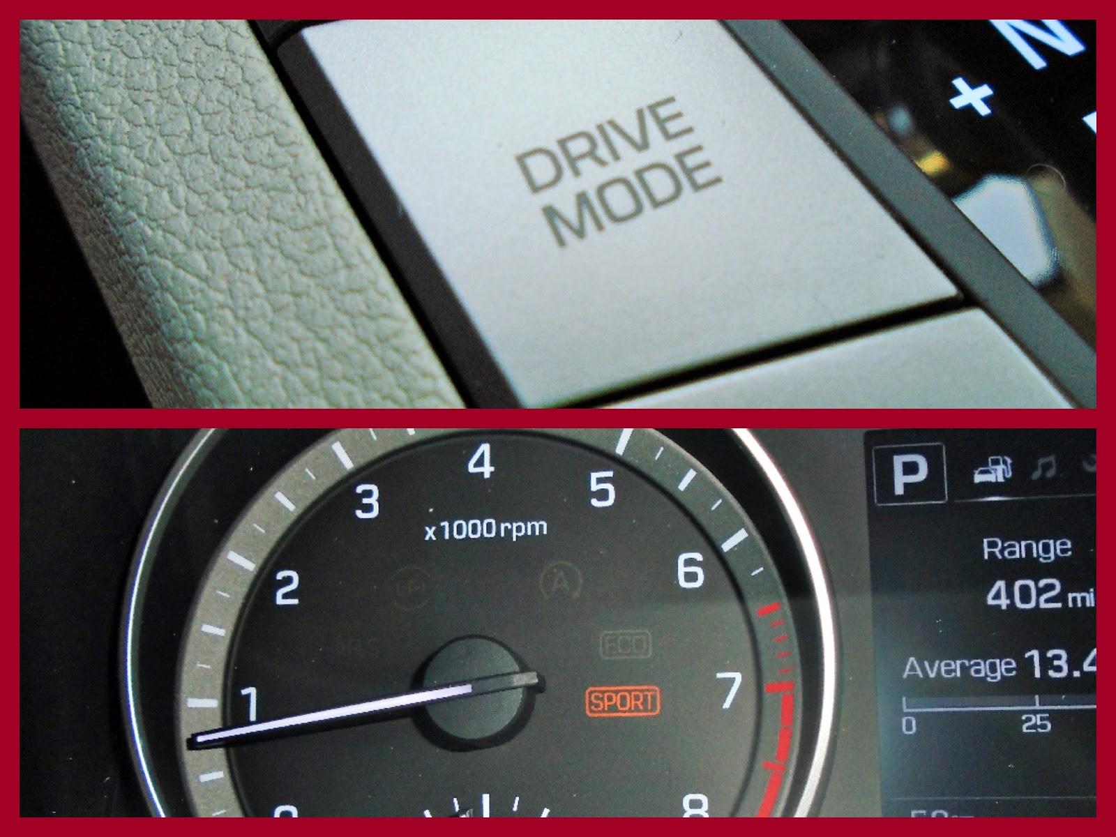 Drive modes.