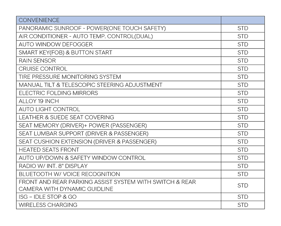 i30 N - Convenience Spec Sheet-01.png