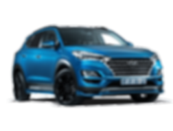 HYUNDAI TUCSON QUARTER-248 - no backgrou