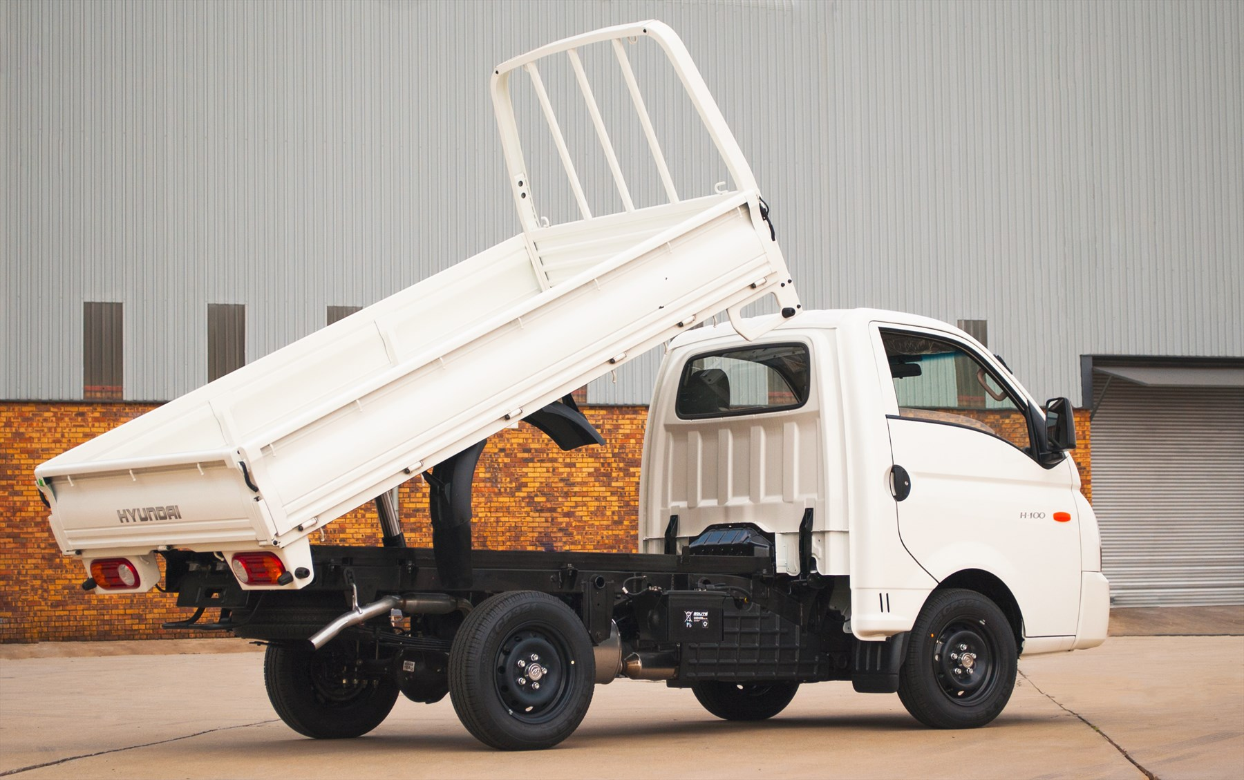 H-100 Tipper also available.