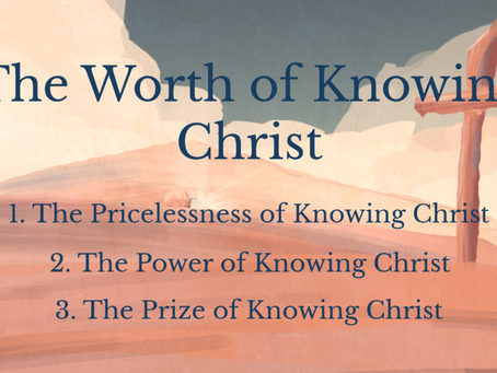 4/04/2021 - Easter Sunday | The Worth of Knowing Christ