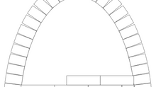 Catenary Arch Math for an 11 cubic foot kiln
