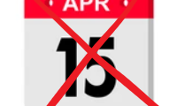 Tax Day is now May 17