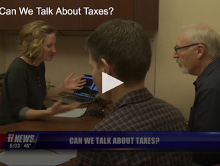 Talking about taxes
