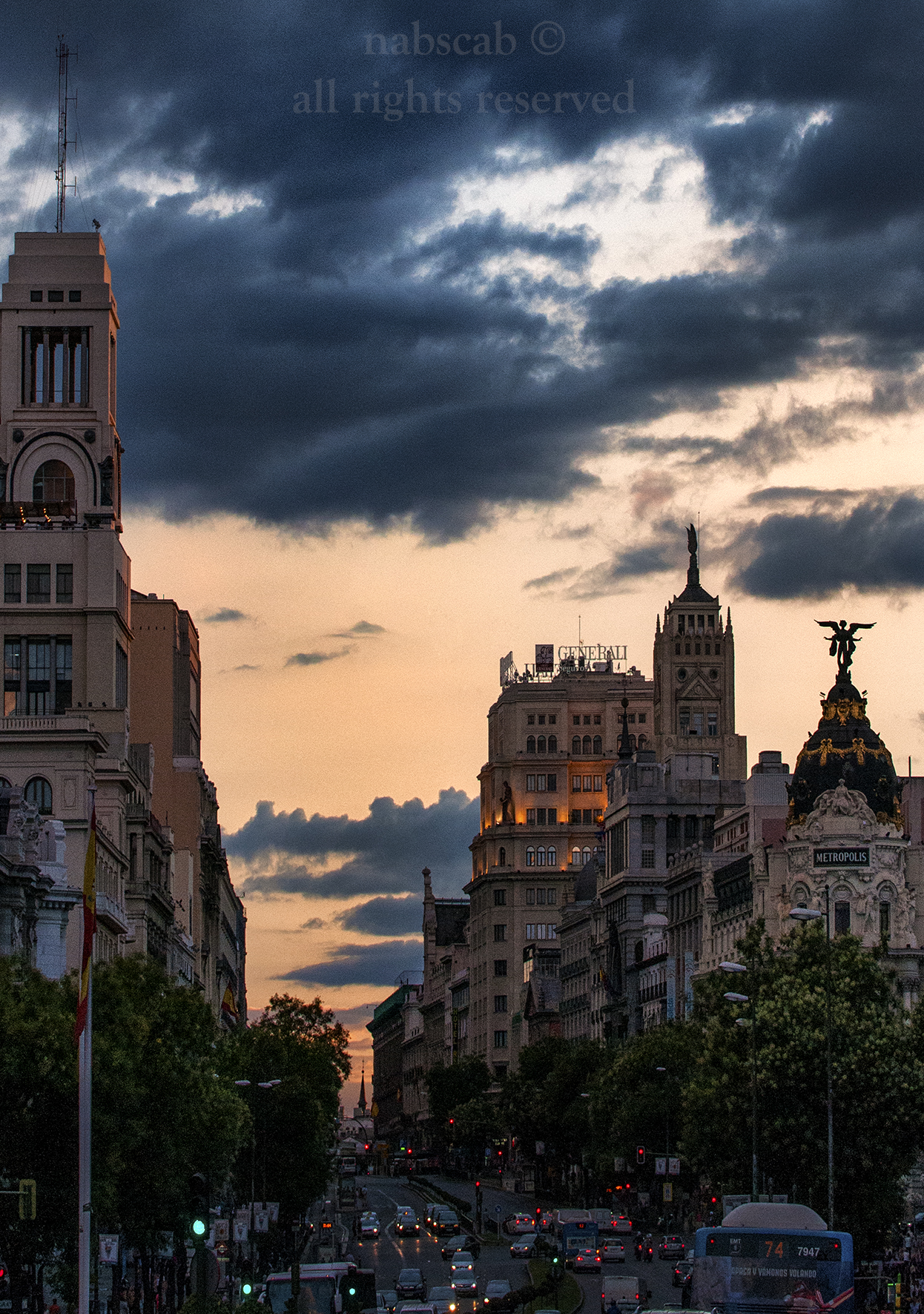 De Alcalá hacia Sol