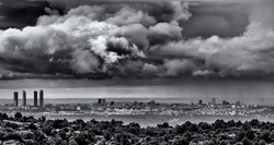 Madrid Bajo La Lluvia