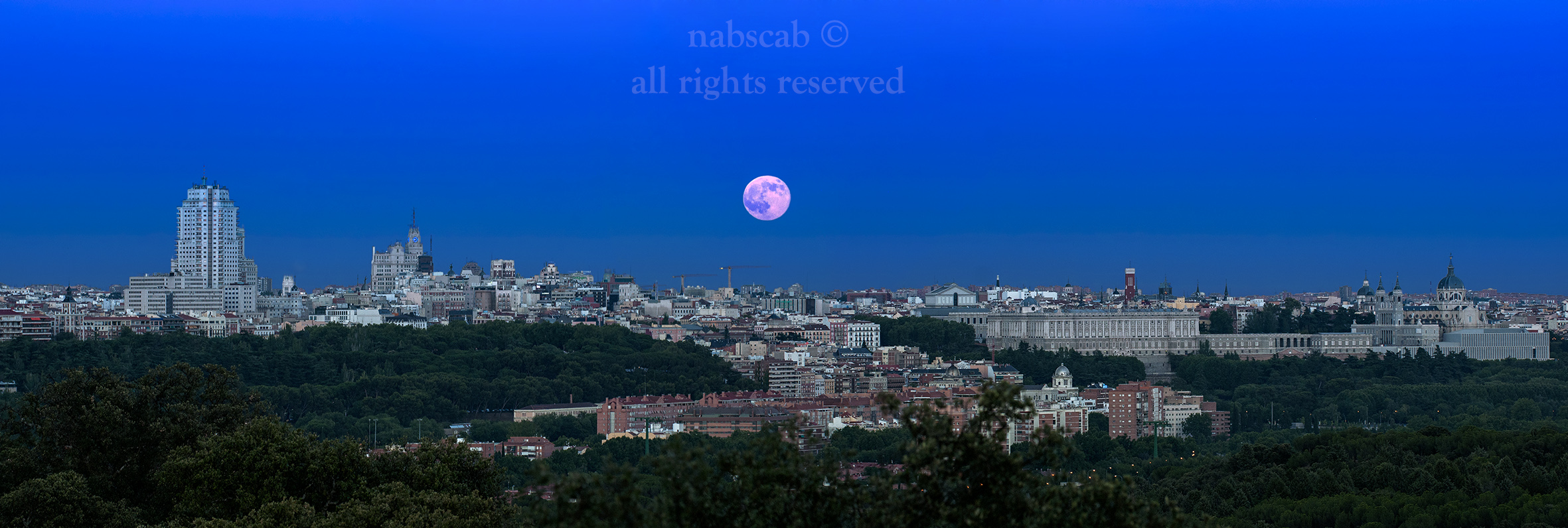 Madrid y su Luna