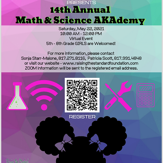 14th Annual Girls' Math and Science AKAdemy