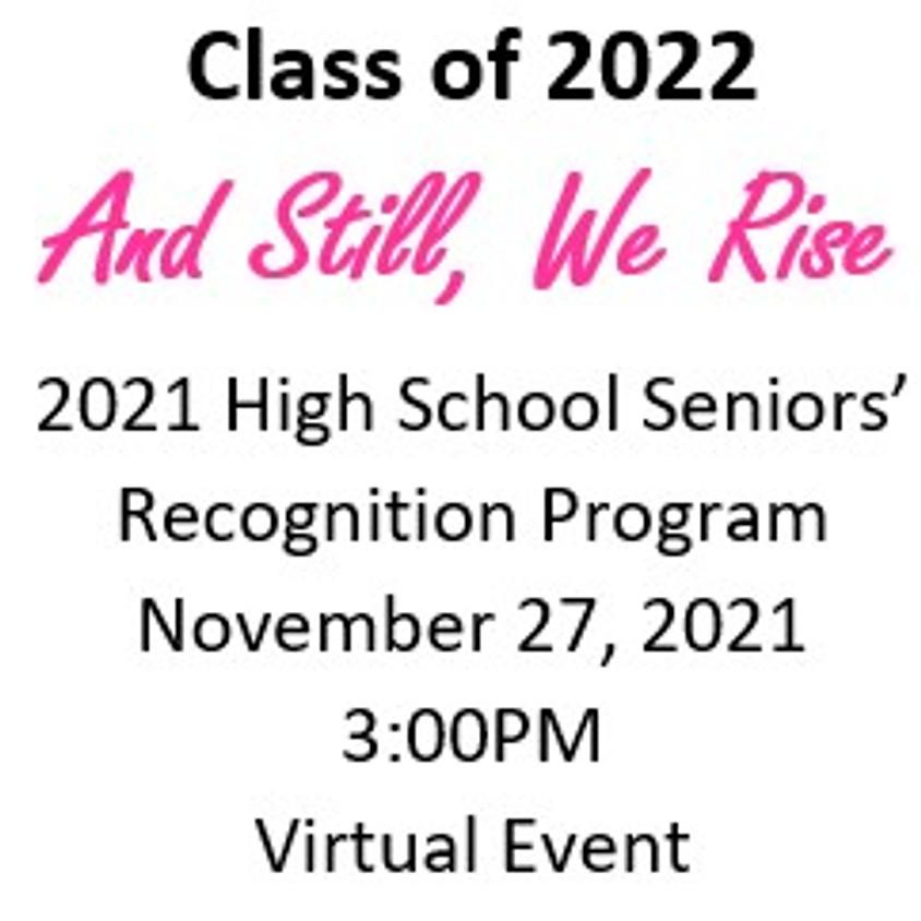 2021 High School Seniors' Recognition Ceremony