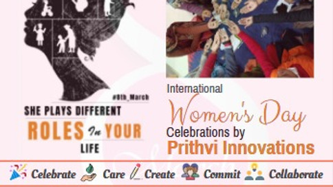 Vividha Month long International Women's Day celebrations