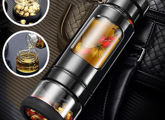 Glass Tea Bottle Infuser