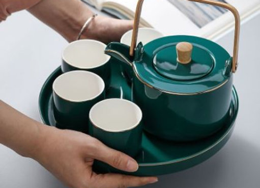 Hand-Crafted Tea Pot Set Tea