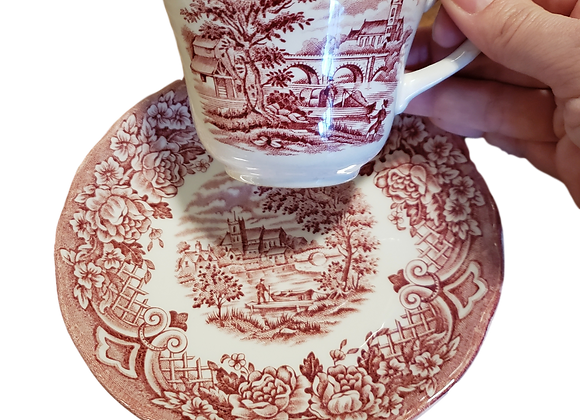 Homeland Gridley Antique Tea Cup and Saucer