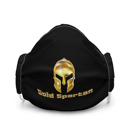 Gold Spartan Face Covering
