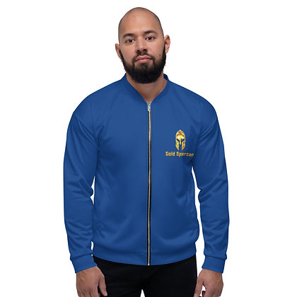 Gold Spartan Blue Jacket
