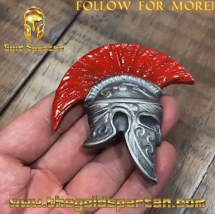 Spartan Helmet Enameled