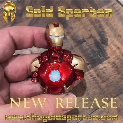 Iron Man Bust Enameled