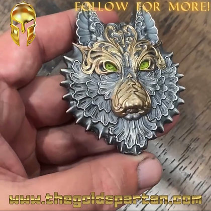 Wolf Enameled