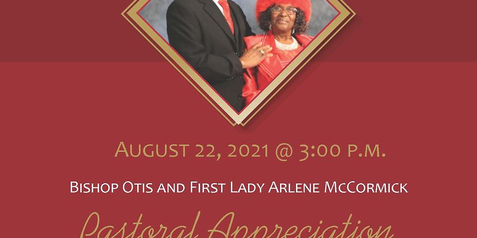 Bishop Otis & First Lady Arlene McCormick - Pastoral Appreciation