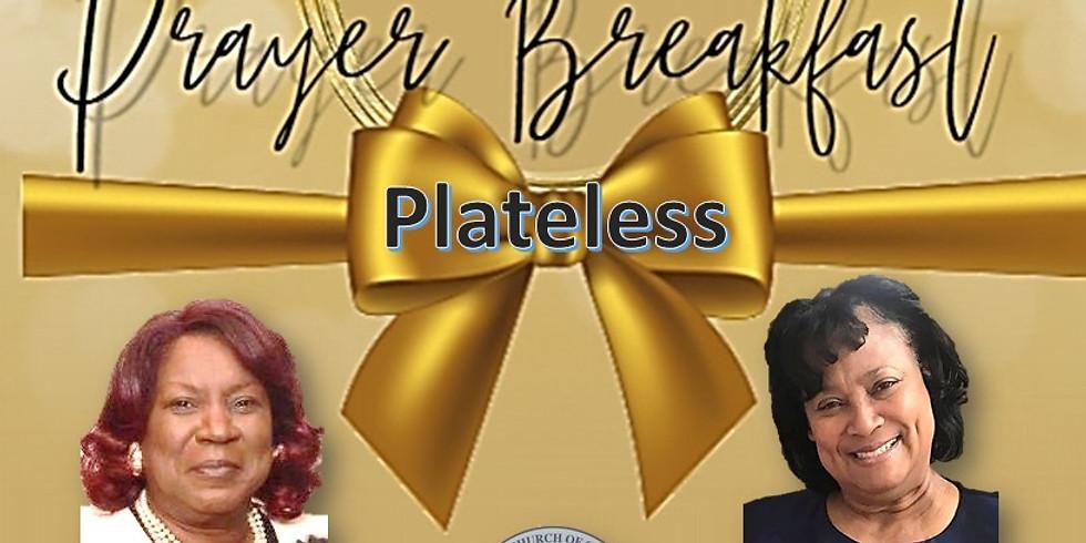 Plate Less Prayer Breakfast